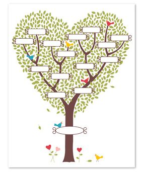Last Minute Gift Idea!! New My Digital Studio Family Tree Template ...